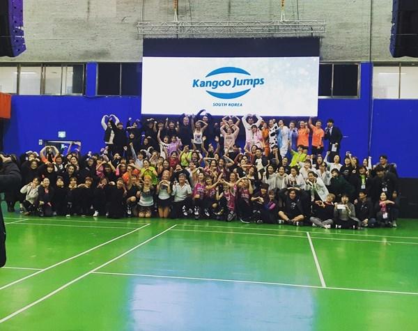 캉구점프코리아가 론칭 2주년을 맞아 제1회 빅파티를 개최했다.(사진=캉구점프코리아)